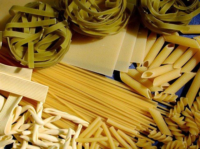 bahan makanan pasta