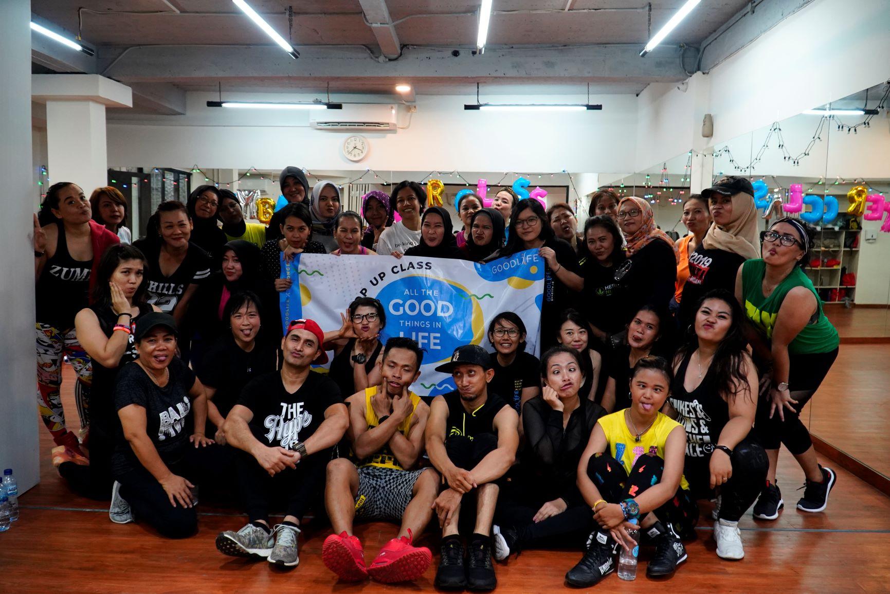 "Keringetan Di Zumba Master Class ""Dance with Soul"" At Pilates Soul Studio"