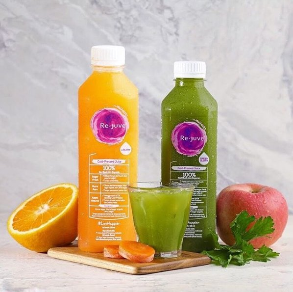 5 Rekomendasi Minuman Cold Pressed Juice Untuk Lebih Sehat