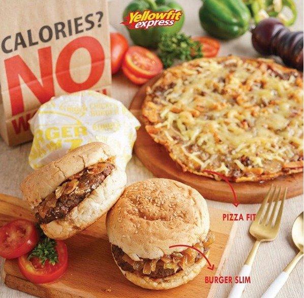 GLReview: Makan Fast Food Tetap Sehat Kini Tersedia di YellowFit Express